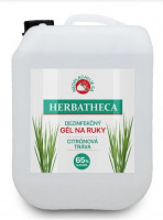 Dezinfekčný gél na ruky Herbatheca, 5l