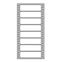 Etikety tabelačné 101,6x36mm 1-radové/500 hárkov