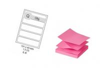 Samolepiace notesy, obálky, etikety a pásky do pokladní