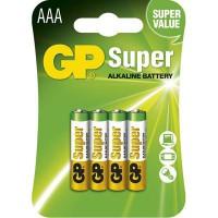 Batéria alkalická AAA 1,5V LR03 GP24A /4ks