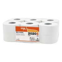Toaletný papier  Jumbo 19 cm SAVE 2vr. 150m, biely
