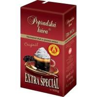Káva Extra špeciál 500g vákuová Popradská