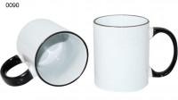 Ceramic design, 0090 - biela/čierna