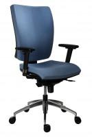 Kancelárska stolička 1580 SYN GALA ALU modrá