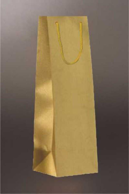 8e88e1c27 EKO taška na víno s bavlnenou rúčkou, zlatej farby je vyrobená z papiera.Minimálna  objednávka 20ks. Možnosť potlače tašky, pre viac informácií nás neváhajte  ...