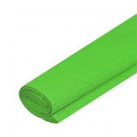 Krepový papier zelený