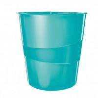 Kôš na odpadky Leitz WOW 15l ľadovo modrý