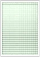 Milimetrový papier A4/100ks