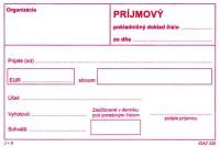Príjmový pokladničný doklad, A6, 100 listov,samoprepis bez DPH  (IGAZ 320)