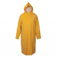 Nepremokavý pogumovaný plášť,XL