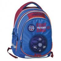 Školský batoh Maxx Play, Blue Football