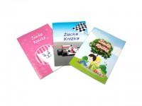 Žiacka knižka s farebnou obálkou