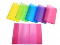 Obal na zošit A6 218x154mm PVC farebný mix