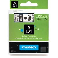 Páska Dymo 12/7 čierna/transparentná 45010