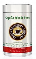 Káva Organic Whole Beans 250g, zrnková, v dóze