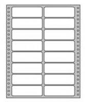 Etikety tabelačné 89x36,1mm 2-radové /250hárkov