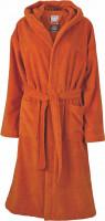 Bath robe, 62 - oranžová tmavá