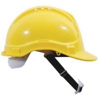Ochranná prilba Manutan CLASSIC, 6-bodová, žltá