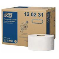 Toaletný papier Jumbo 19 cm TORK 2vr. 170m, biely