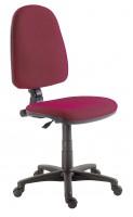 Kancelárska stolička 1080 mek bordová