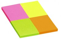 Notes samolepiaci 40x50 MIX neon INFO/ 4x50list.