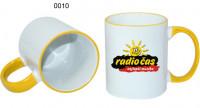 Ceramic design, 0010 - biela/žltá