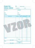Dodací list, A5,  s DPH  (SUBAKO 21)