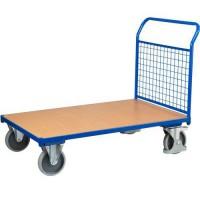 Plošinové vozíky s držadlom s mrežovanou výplňou, do 500 kg