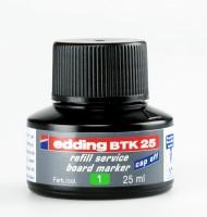 Atrament do popisovačov Edding BTK 25 stierateľný, zelený