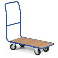 Plošinový vozík s držadlom, do 300 kg