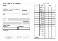 Pokladničná zloženka, 3 diely číslovaná (IGAZ 23)
