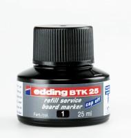 Atrament do popisovačov Edding BTK 25 stierateľný, čierny