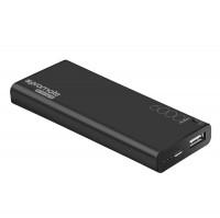 Powerbank PROMATE ENERGI 6, 6.000mAh, 2.1A USB, čierne