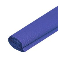 Krepový papier modrý tmavý