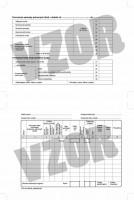 Záznam o prevádzke vozidla osobnej dopravy, A5,    (SUBAKO 46)