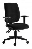 Kancelárska stolička 1380 asyn čierna