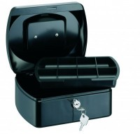 Pokladnička čierna 255x200x90mm