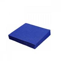 Servítky  33x33cm, 2vrstvy, 50ks/bal, tmavo modré