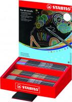 Popisovač Stabilo Pen 68 metallic 60ks displej