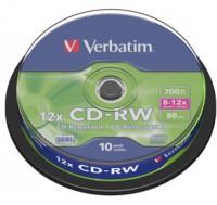 CD-RW Verbatim  700MB