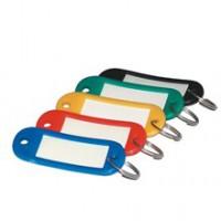 Menovky na kľúče/5ks mix farieb