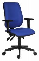 Kancelárska stolička 1380 asyn modrá
