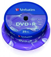DVD+R Verbatim 16x 4,7 GB