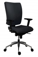 Kancelárska stolička 1580 SYN GALA ALU čierna