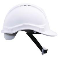 Ochranná prilba Manutan CLASSIC, 6-bodová, biela