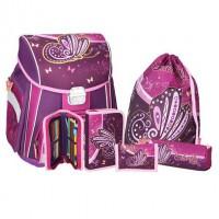 Školská taška - 5-dielny set, START Butterfly