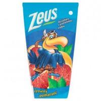 Džús Zeus 0,2L červený pomaranč