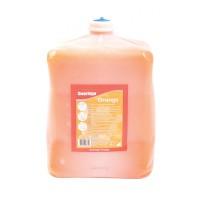 Pasta na ruky, tekutá,  DEB ORANGE 4L, silné znečistenie