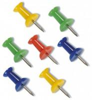Pripínačky do korkovej tabule farebné/40ks