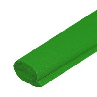 Krepový papier svet. zelený